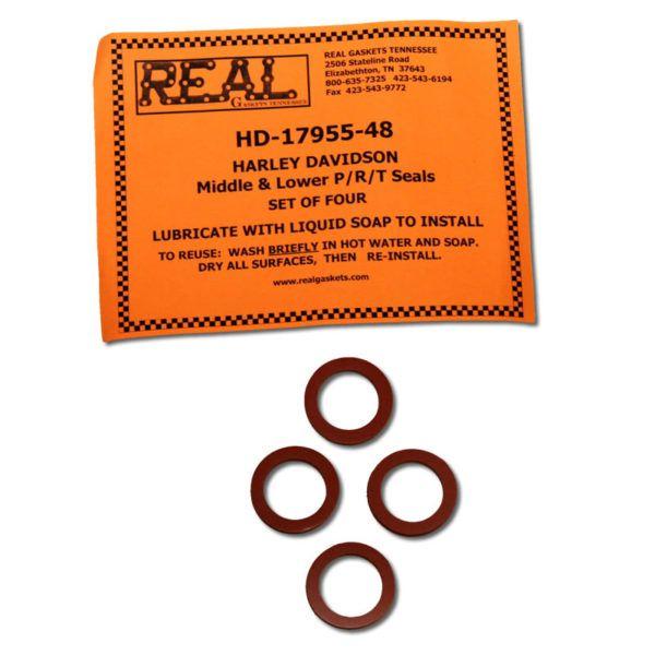 17955-48-4-2 with label for silicone rubber valve cover gaskets