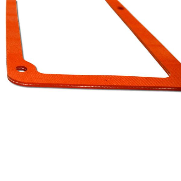 CSC-1FR silicone rubber valve cover gasket edge