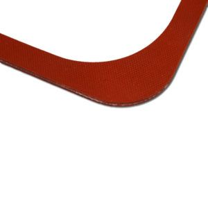 CVC-4FR silicone rubber valve cover gasket edge