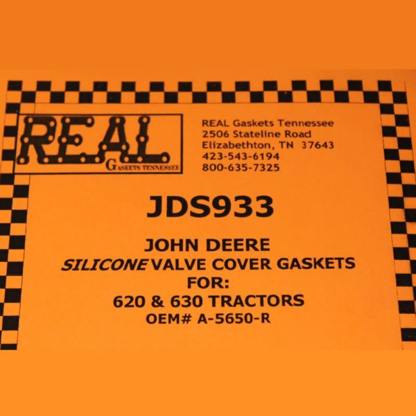 JDS933-2 label for silicone rubber valve cover gaskets