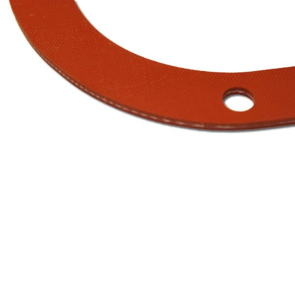 MOP-1FR silicone rubber valve cover gasket edge