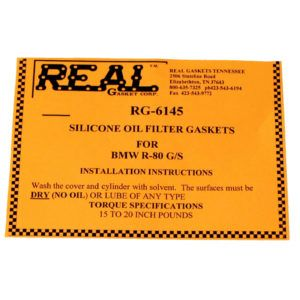 RG-6145-2 label for silicone rubber valve cover gaskets