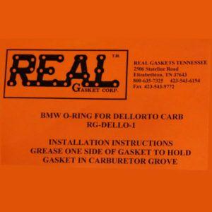 RG-Dello-1 label for silicone rubber valve cover gaskets