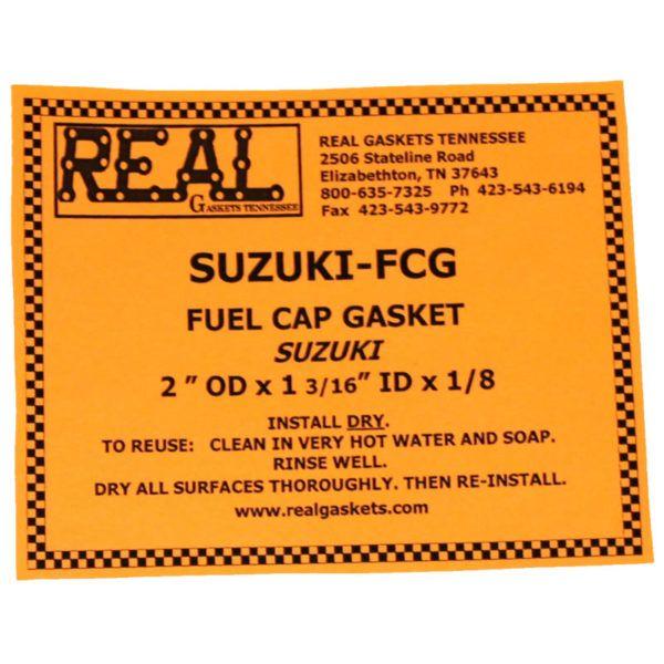 SUZUKI-FCG-2 label for