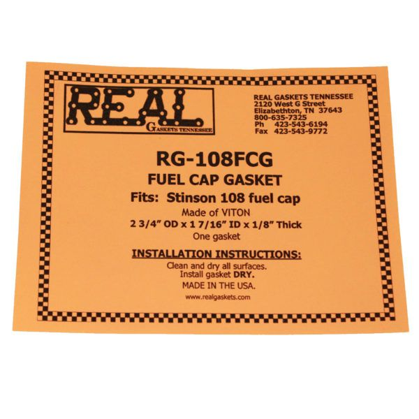 RG-108FCG a label Silicone Rubber Valve Cover Gaskets