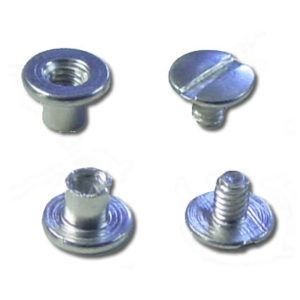 Baffle Seal Fastner - Aluminum Binding Post & Screw Kit